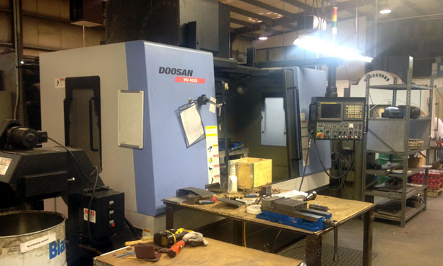 Doosan MV 4020 CNC Vertical Mill