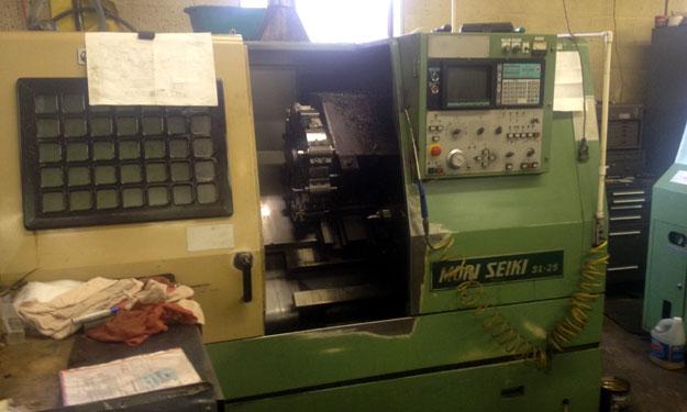 Mori-Seiki SL-25 CNC Lathe