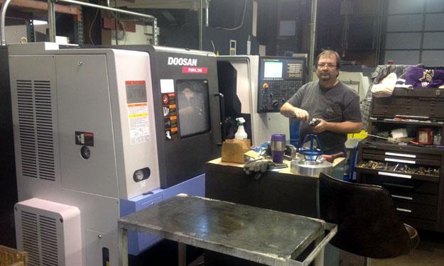 Doosan Puma 240 CNC Lathe